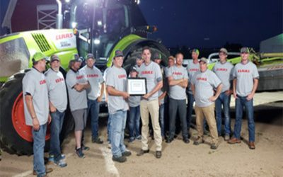 CLAAS New World Record